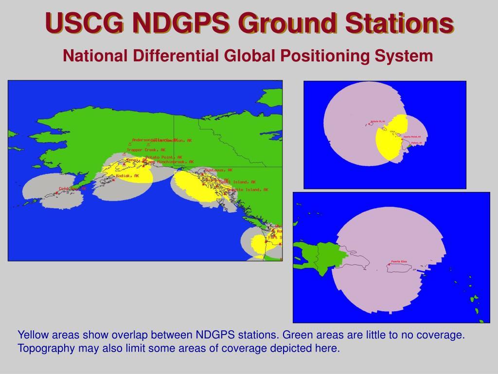 USCG NDGPS Ground Stations