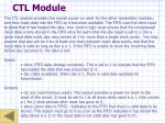 ctl module