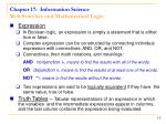 chapter 17 information science web searches and mathematical logic1