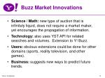 buzz market innovations