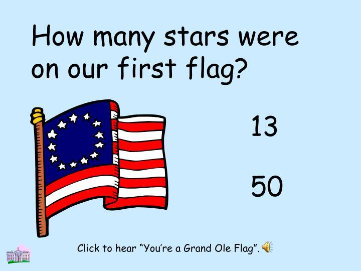 How many stars were