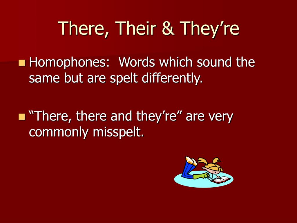 There, Their & They're