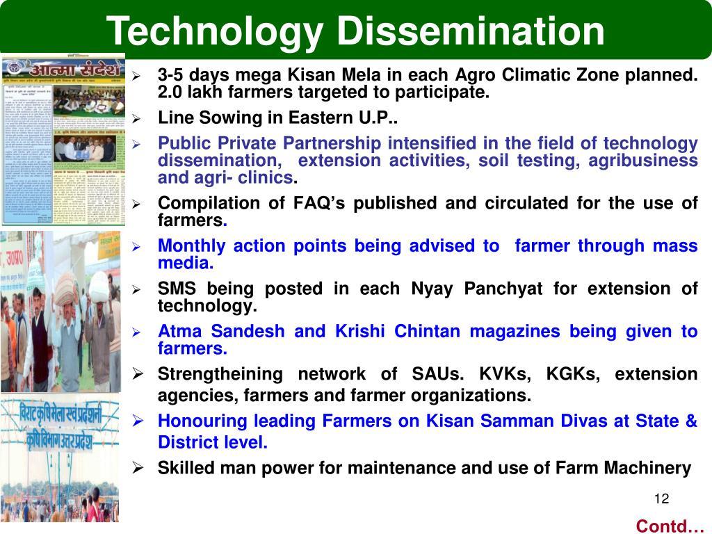 Technology Dissemination