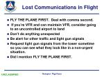 lost communications in flight7