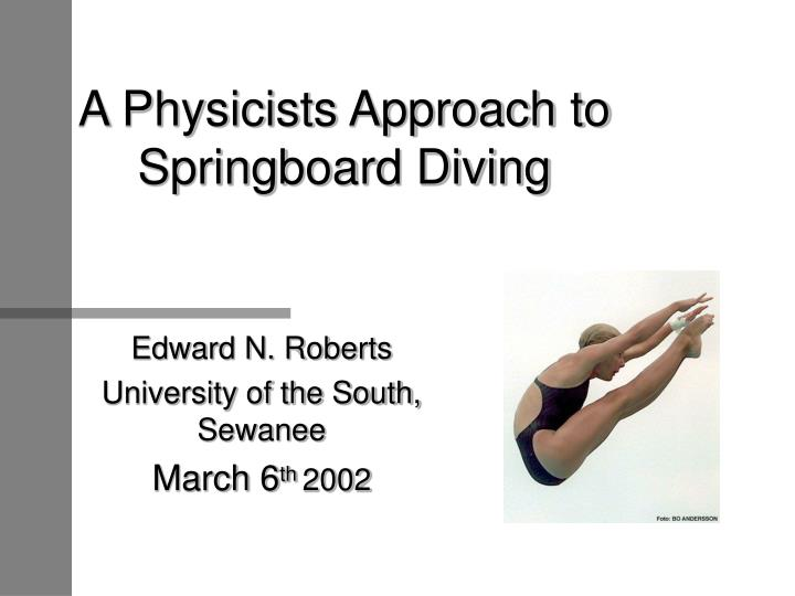 physics of springboard diving 1 meter springboard diving front summersault 1 twist - youtube pinterest explore dive in, diving springboard, and more springboard dive in diving springboard 1 meter springboard diving front summersault 1 twist - youtube very good, middle school/hs level of physics explanation.