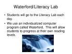 waterford literacy lab