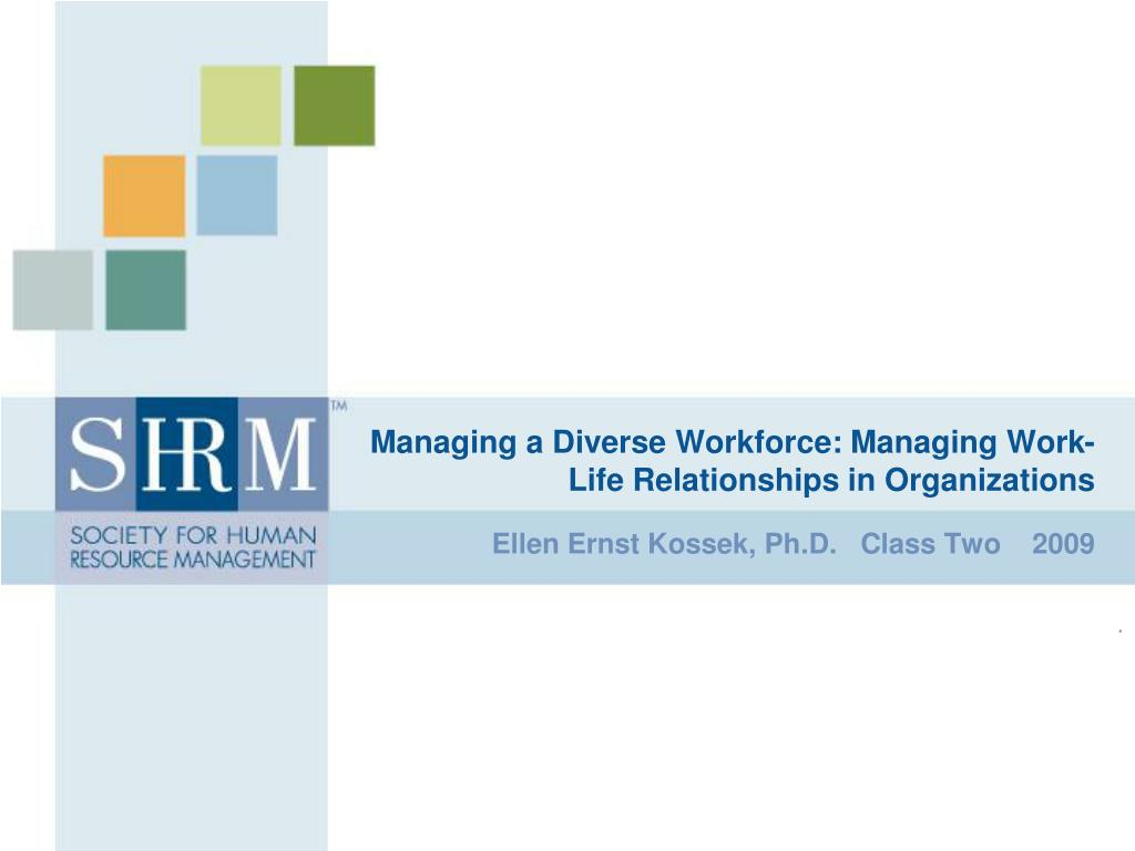 a study on diversity in the workforce