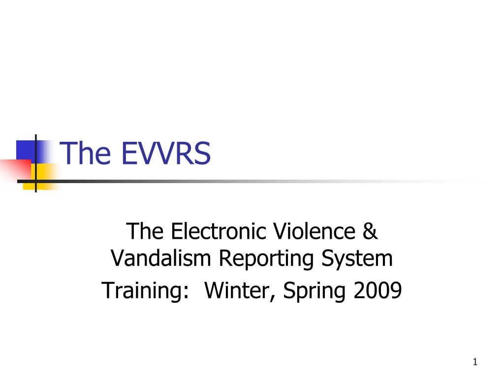 The EVVRS