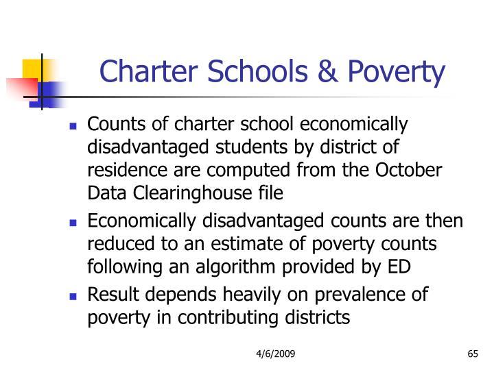 Charter Schools & Poverty