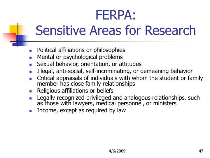 FERPA: