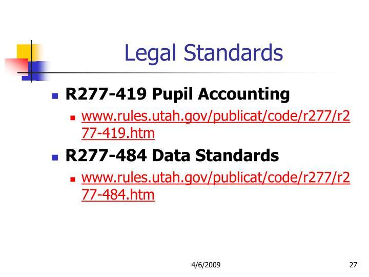 Legal Standards