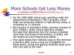 more schools get less money www nytimes com 2005 07 04 education 04title html r 1