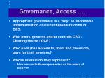 governance access