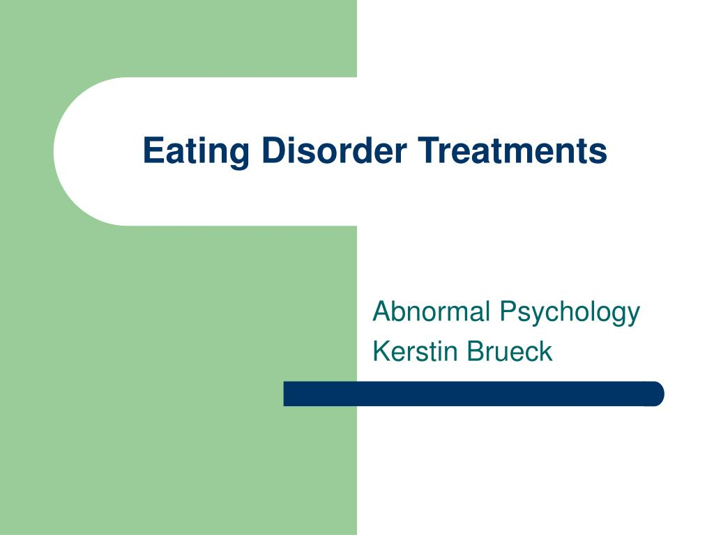 eating disorder treatments l.
