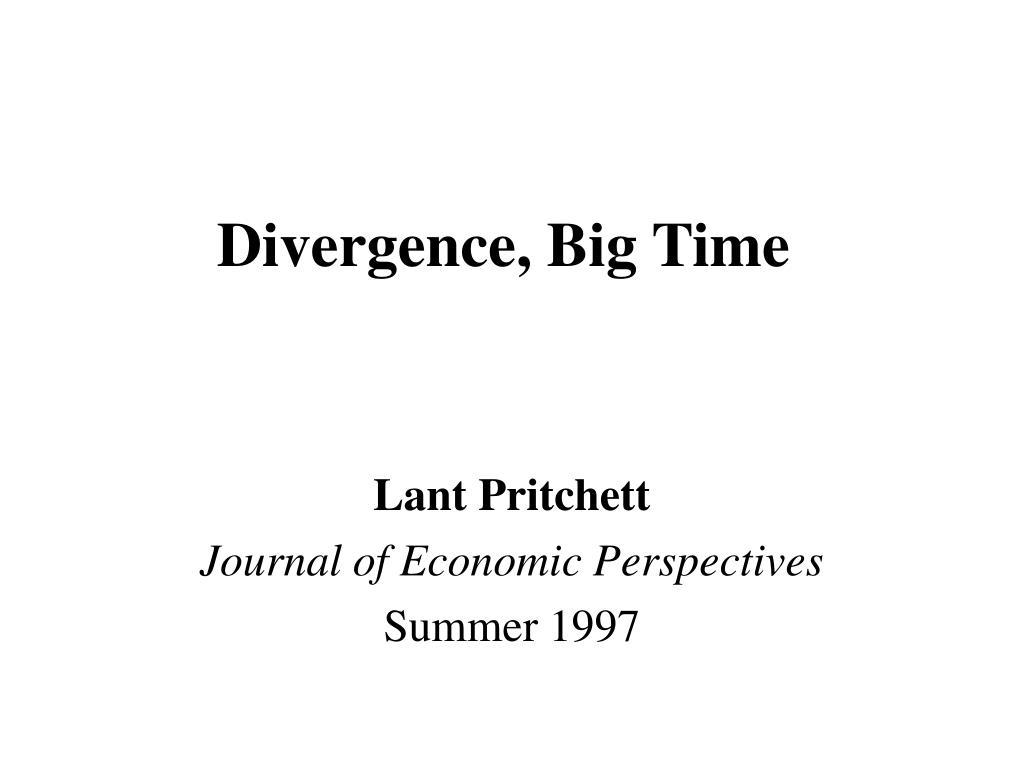 divergence big time l.