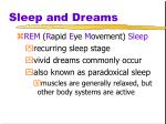 sleep and dreams4