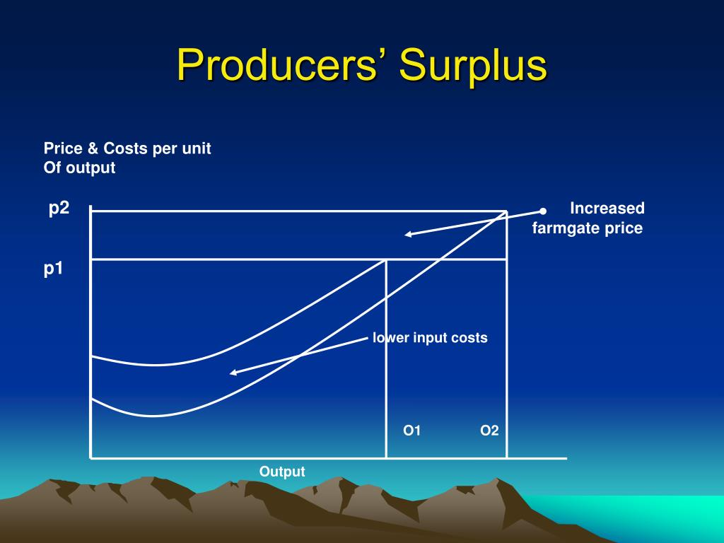 Producers' Surplus