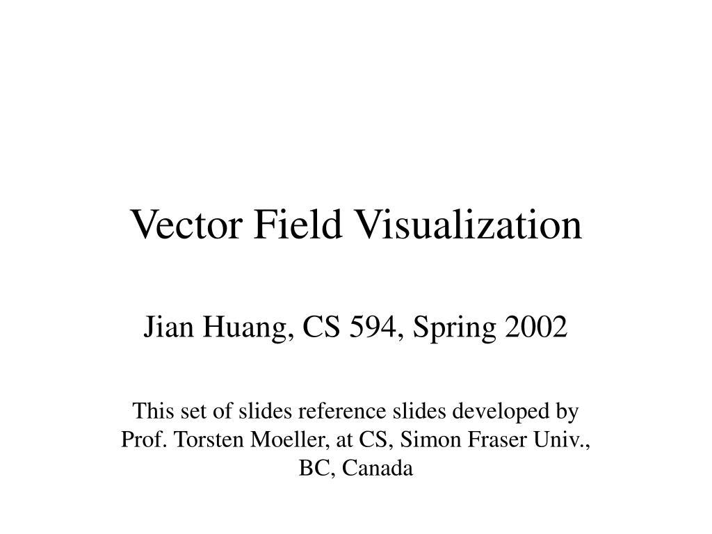 vector field visualization l.