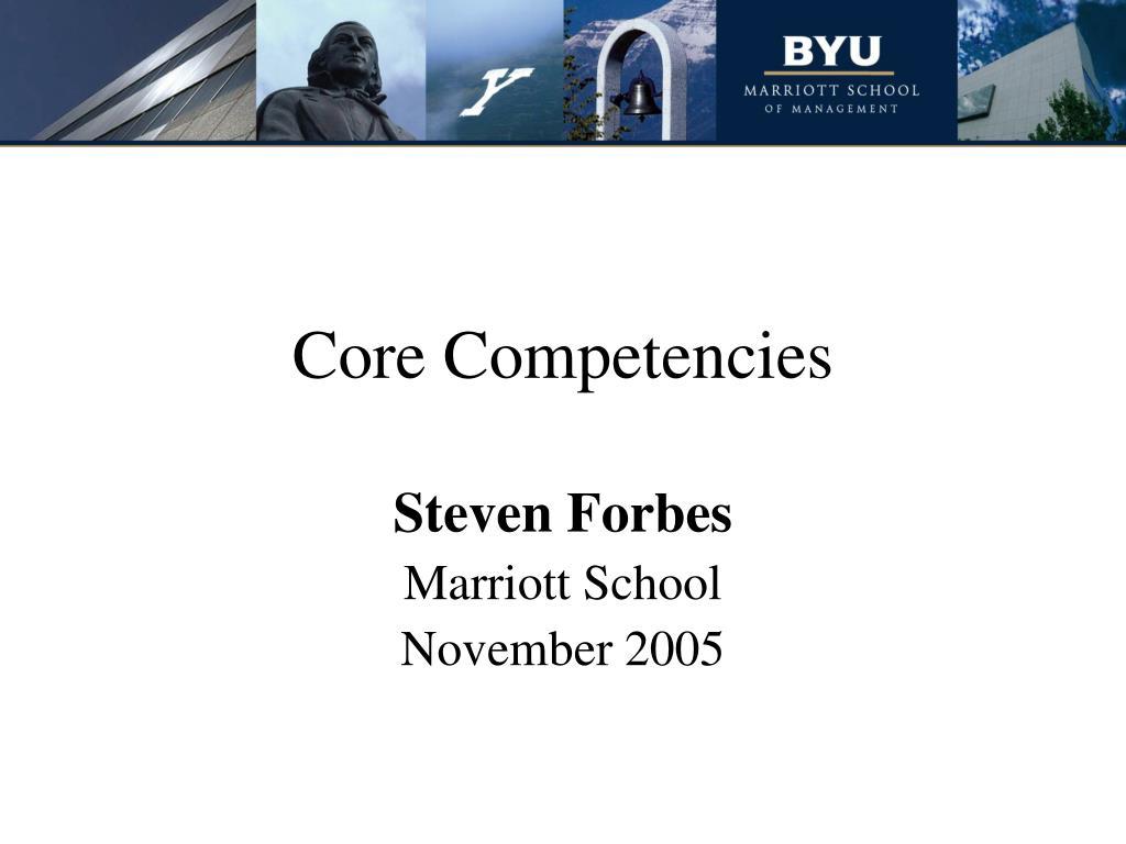 core competencies l.