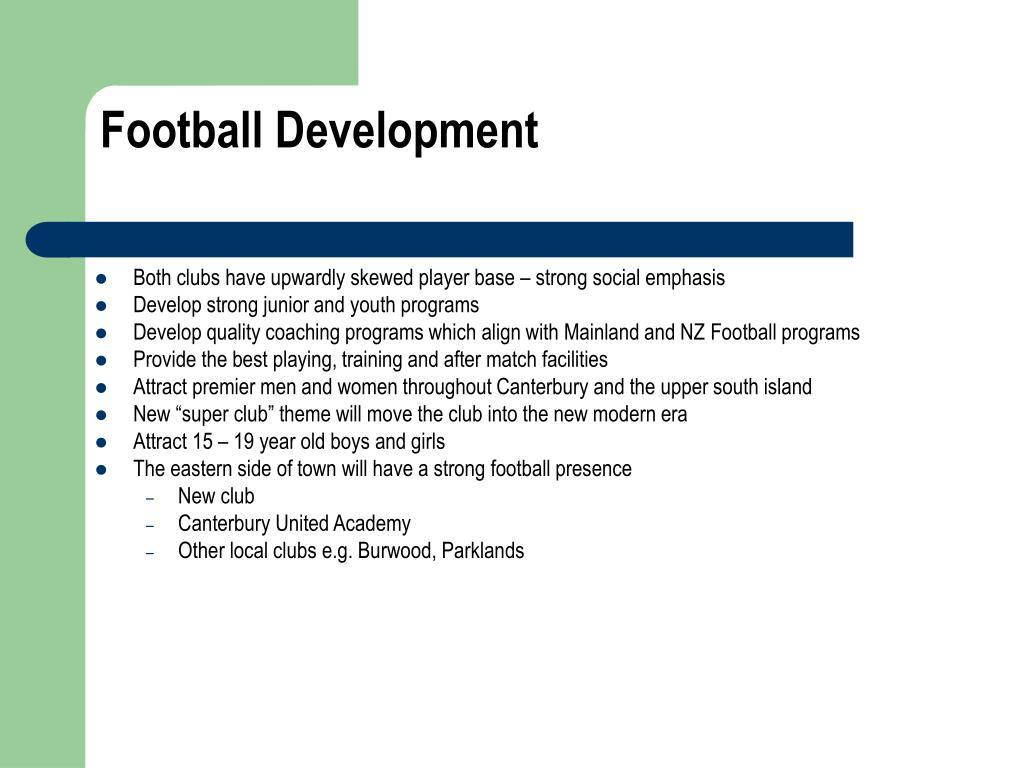Football Development