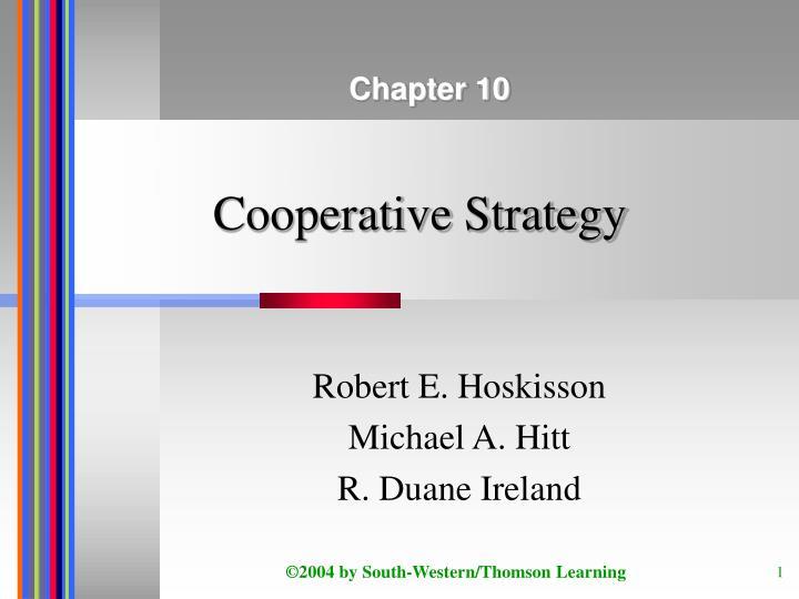cooperative strategy n.
