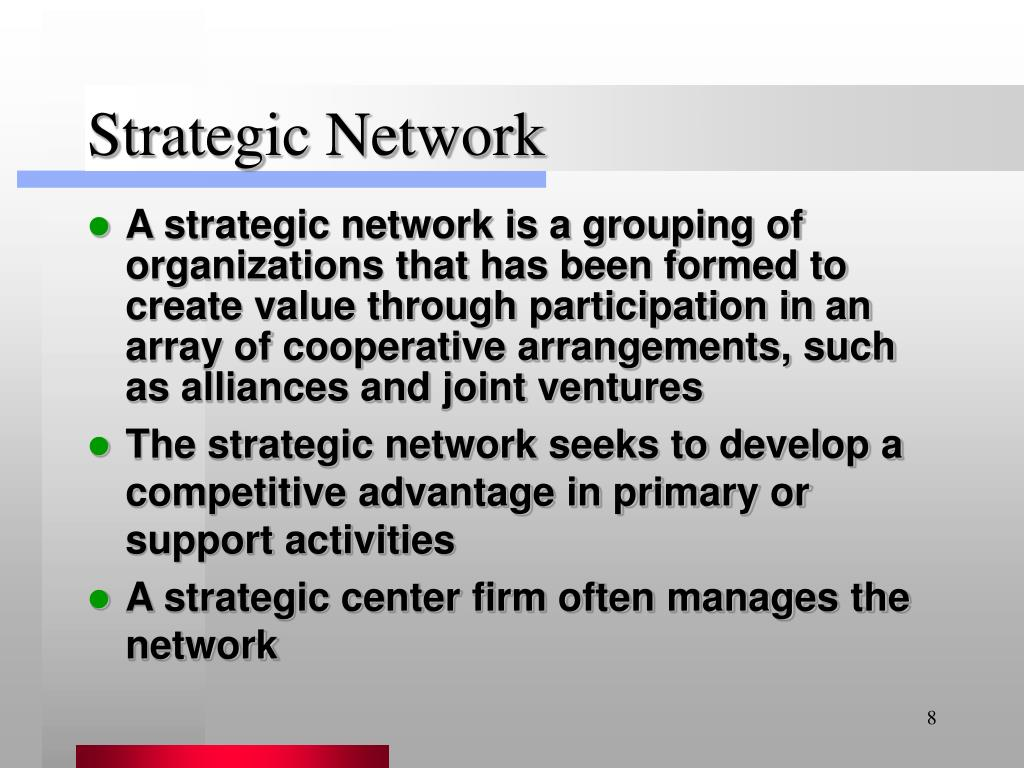 Strategic Network