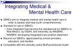 integrating medical mental health care