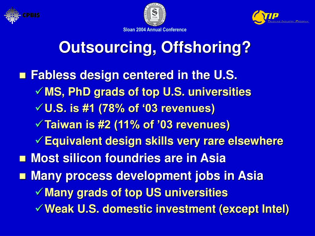 Outsourcing, Offshoring?