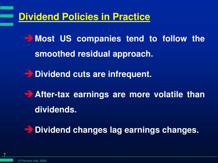 signaling approach on dividend policy Some investors may use the signaling approach on dividend policy as a means to determine whether to buy or sell a stock.
