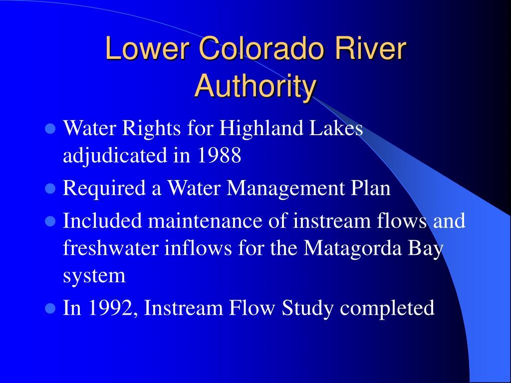 Lower Colorado River Authority