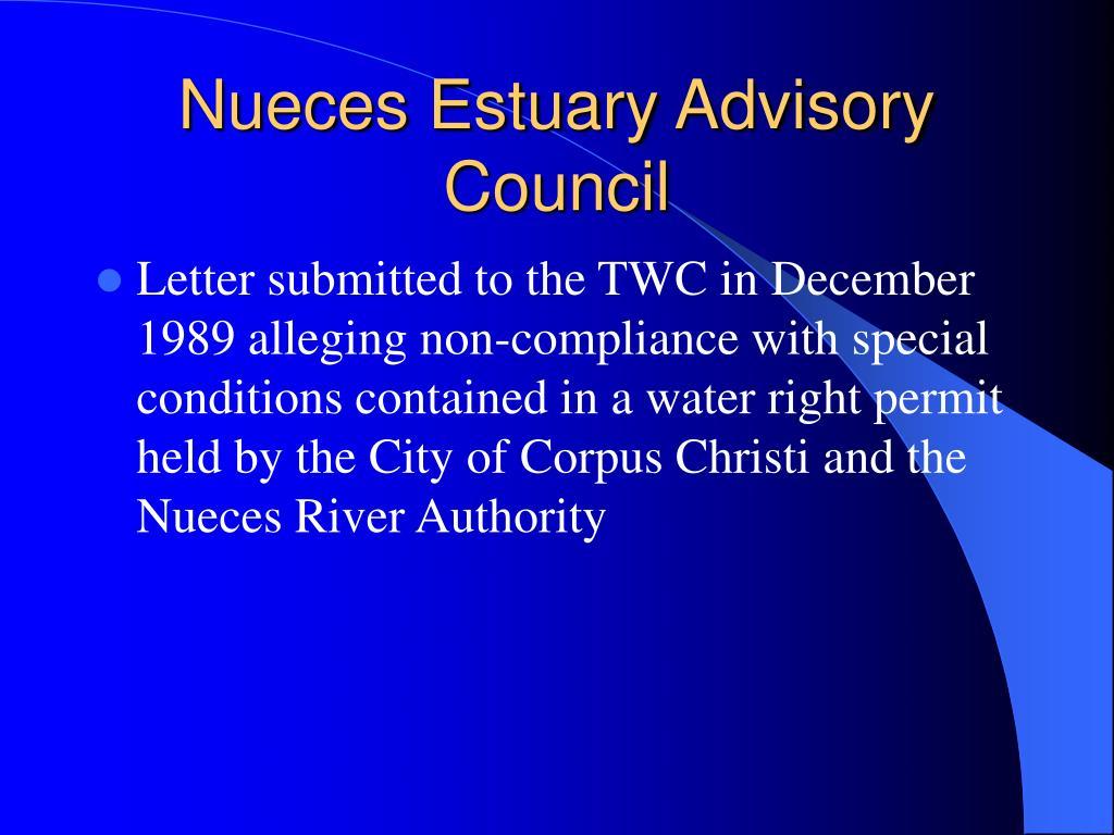 Nueces Estuary Advisory Council