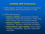 liability self insurance