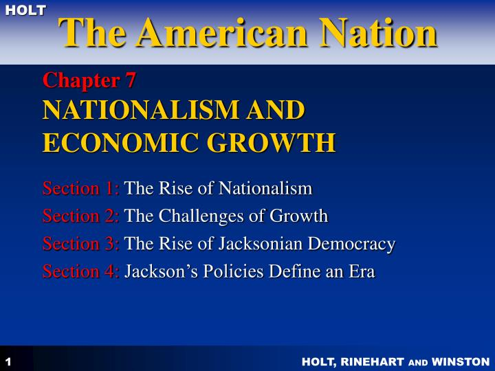 chapter 7 nationalism and economic growth n.