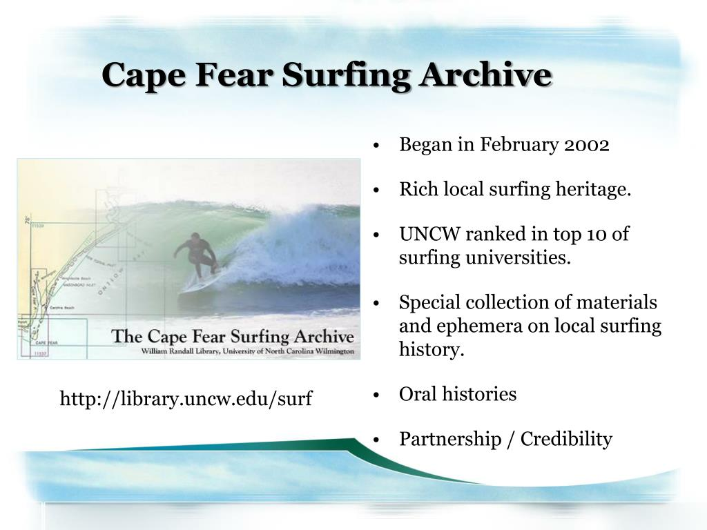 Cape Fear Surfing Archive