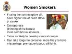 women smokers