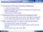 advanced computing facility