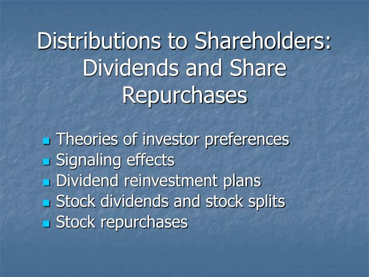 distributions to shareholders Your normal s-corp distributions are not reported to you or the irs on a 1099-div shareholder distribution 1099 div i am the only shareholder of my s corp.