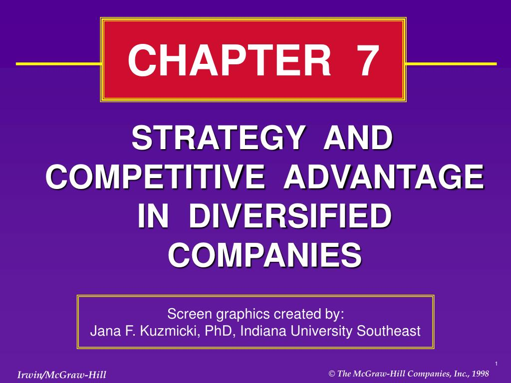 Strategy and Competitive Advantage in Diversified Companies - Assignment Point