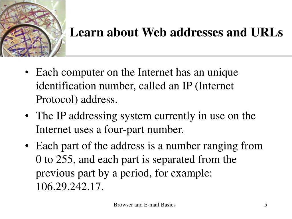 Learn about Web addresses and URLs