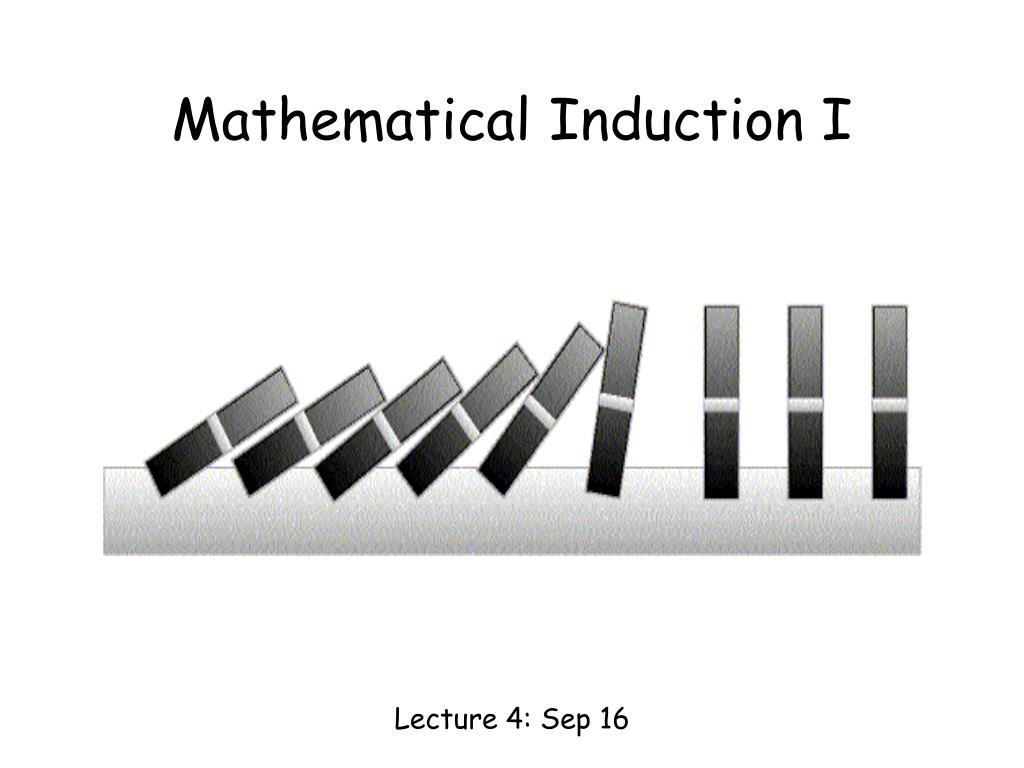 mathematical induction i l.