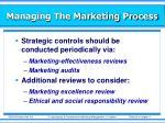 managing the marketing process27