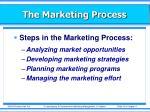 the marketing process17