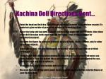 kachina doll directions cont