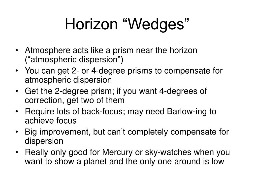 "Horizon ""Wedges"""