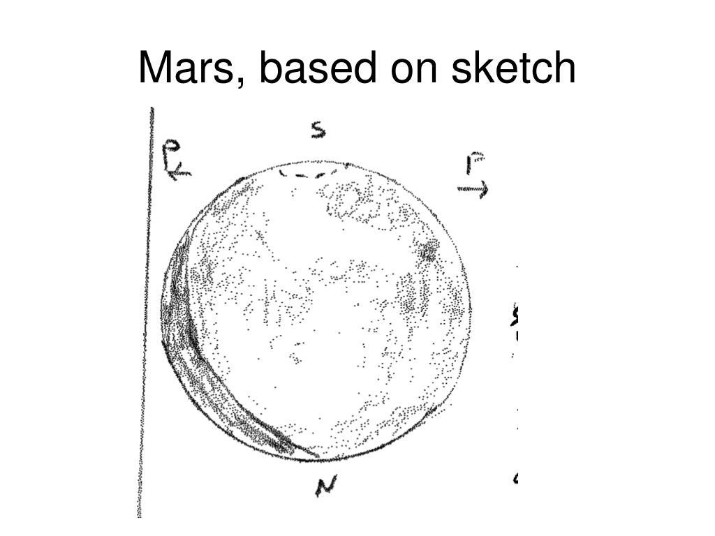 Mars, based on sketch