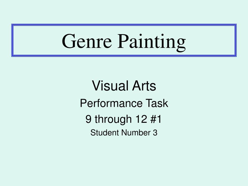 genre painting l.