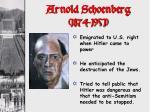 arnold schoenberg 1874 1951
