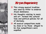 aryan superiority