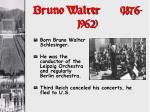 bruno walter 1876 1962
