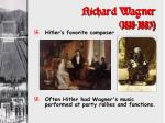 richard wagner 1818 1883